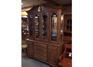 Large Oak Hutch