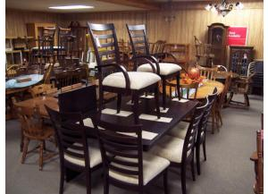 7 Pc Dark Oak Dinette