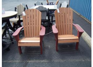 Amish made poly Adironback chairs