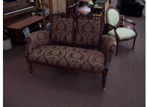 East Lake antique settee