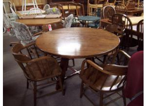 Solid Oak 5 Pc dinette