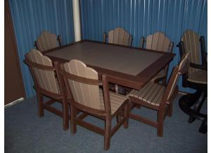 Amish made Poly Patio set