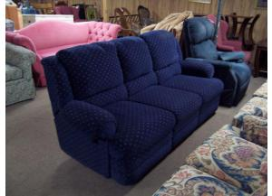 Duel reclining sofa and love seat.