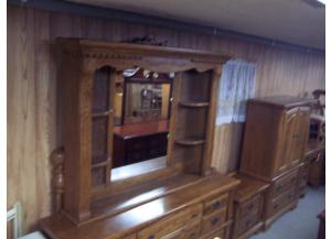 Oak queen bedroom set