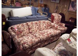 Preowned 2pc sofa and chair