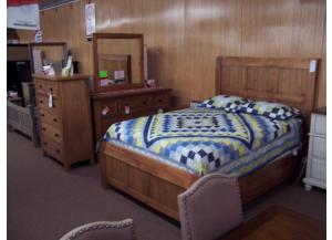 Vaughan Bassett Oak Bedroom Group