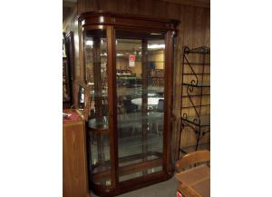 Bowed Glass Curio