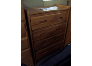 4 drawer solid pine chest. Was $269