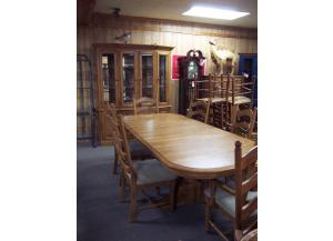 Winners Only Oak Dining Set
