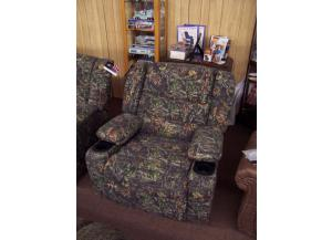 Camo Recliner with cup holders