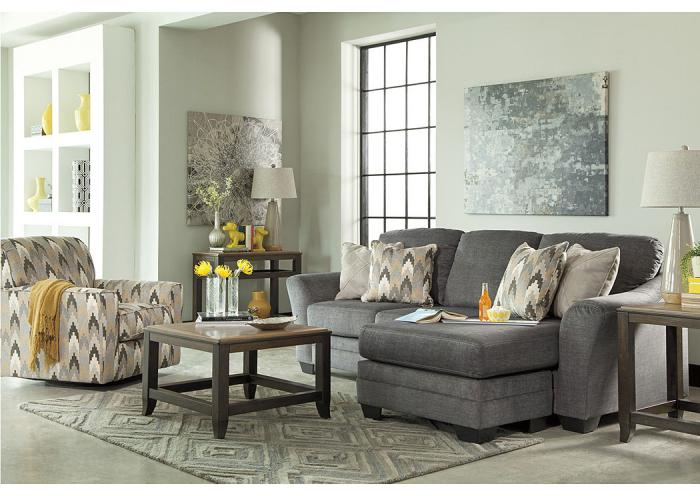 Braxlin Charcoal  6 Pc. Living Room Set     ,Internet Specials