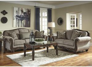 Cecilyn Cocoa 7 Pc. Living Room Set