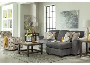 Braxlin Charcoal  6 Pc. Living Room Set