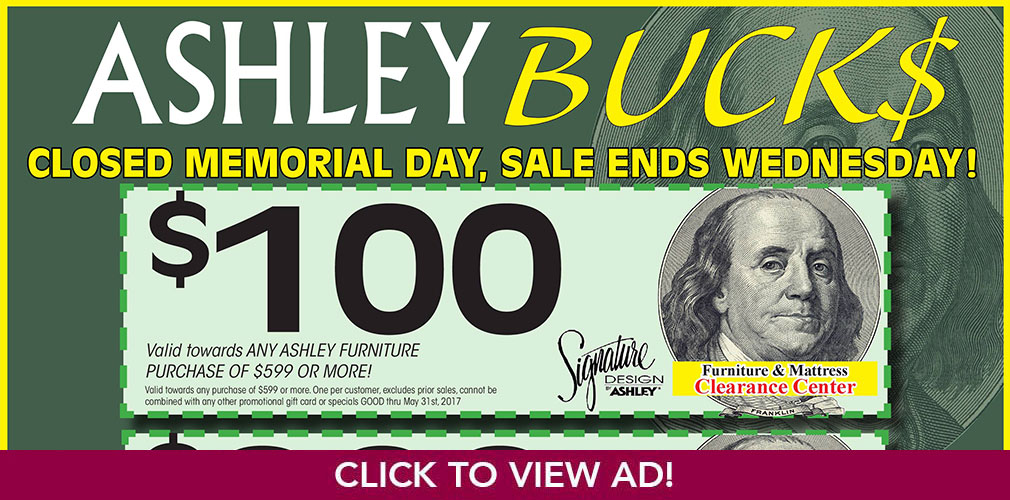Ashley Bucks