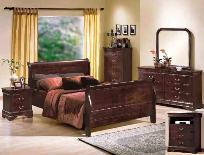 Louis Philip Full Size Bed,Crown Mark