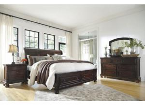 Porter Queen Bed, Dresser, Mirror, Night Stand