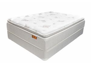 Westcott Super Pillow Top Twin Size Mattress with Foundation