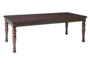Porter Rectangle Table W/ 18 leaf Table Only