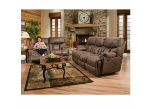 Mammoth Reclining Sofa and Reclining Loveseat