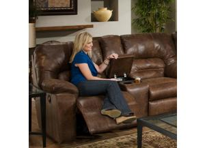 Dakota Reclining Love Seat with console