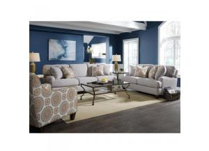 Brianna Stationary Sofa and Love Seat