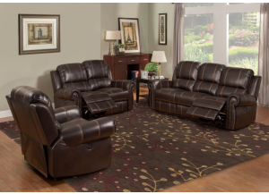 Webber Power Reclining Sofa and Power Reclining Loveseat