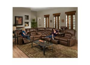 Dakota Sectional Drop Down Table, Massage, Frosty Fridge, console