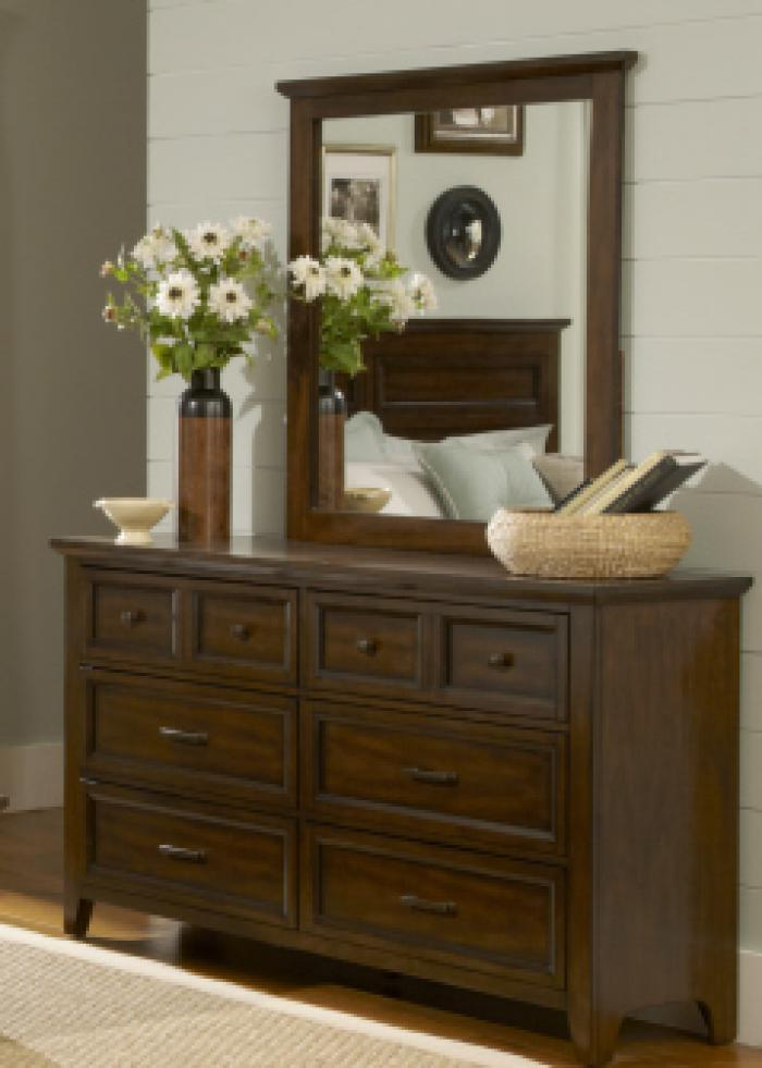 461 Laurel Creek 6 Drawer Dresser,Liberty Furniture Industries