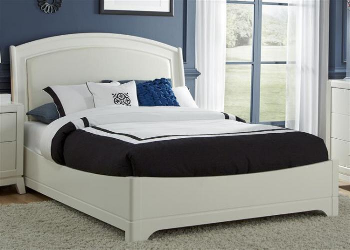 205 Avalon II Queen Platform Leather Bed,Liberty Furniture Industries