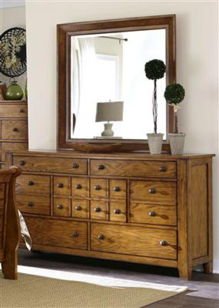 175 Grandpas Cabin 7 Drawer Dresser,Liberty Furniture Industries