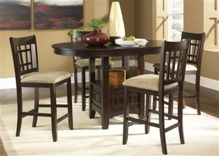 20 Santa Rosa Pub Table with 4 stools,Liberty Furniture Industries