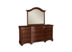 B104 Renaissance 12 Drawer Dresser ,Winners Only, Inc.