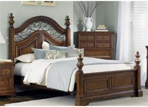 547 Laurelwood Queen Poster Bed