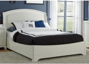 205 Avalon II Queen Platform Leather Bed