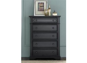 917 Carrington II Bedroom 5 Drawer Chest,Liberty Furniture Industries