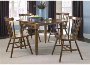 38 Creations II Drop Leaf Table w/4 chairs,Liberty Furniture Industries