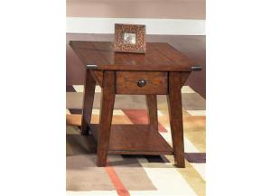 121 Cabin Fever Drawer End Table