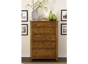 175 Grandpas Cabin 5 Drawer Chest,Liberty Furniture Industries