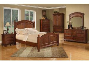 BG100 Cape Cod Queen Panel Bed