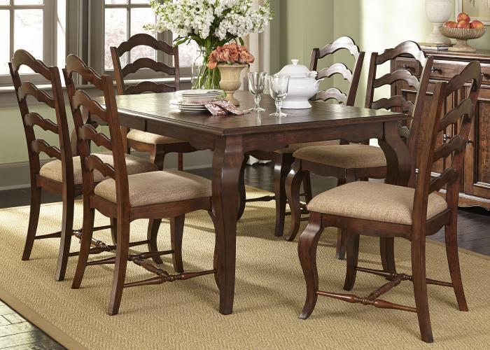 Woodland Creek 7-pc Rectangular Dining Set,Liberty