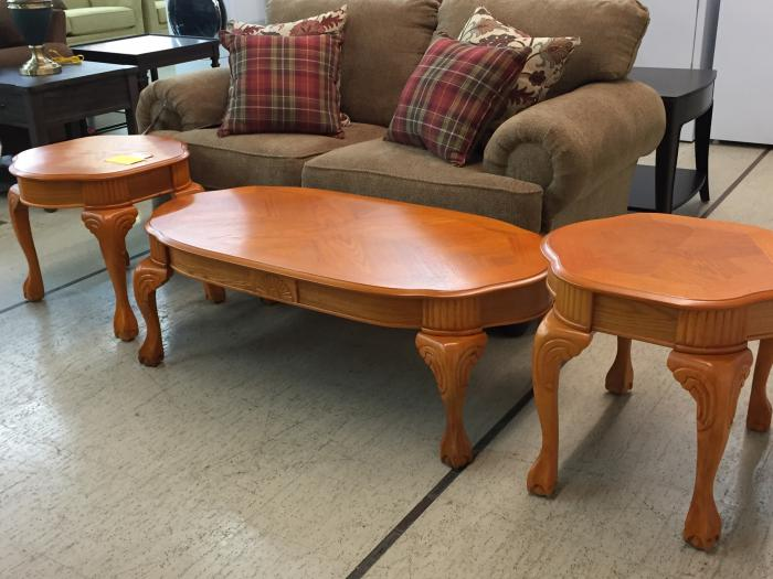Bushline Coffee Table and Two End Tables,Misc. Store Brands