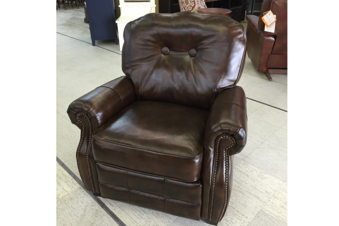 Lane Misc Push-back Recliner - Leather,Lane