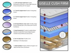 2018 Giselle Cushion Firm
