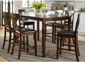 Thornton 7-pc Gathering Table Dining Set