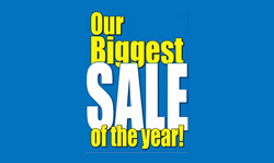 Biggest Sale of the Year!