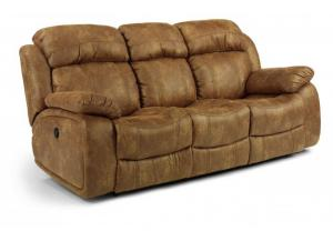 Como Latitudes NuvoLeather Power Reclining Sofa