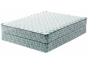 Grayhawk Cushion Firm King Mattress w/Foundation