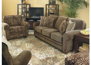 Dalton Stationary Sofa & Emerson Recliner by Lane