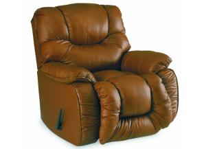 Bulldog Pad-Over-Chaise Rocker Recliner