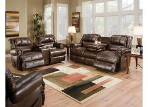 Evans Reclining Sofa & Double Reclining Loveseat